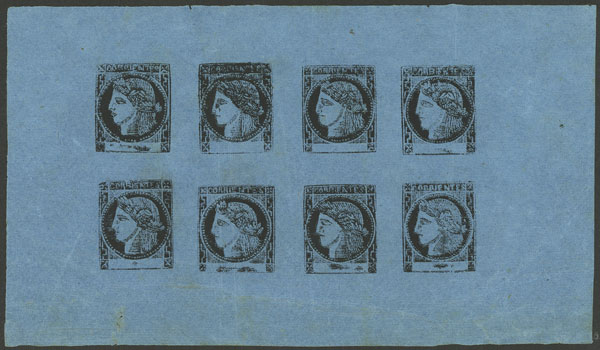 Lot 8 - Argentina corrientes -  Guillermo Jalil - Philatino Auction #1922 ARGENTINA: General auction with very low starts!