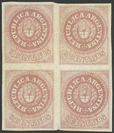 Lot 32 - Argentina escuditos -  Guillermo Jalil - Philatino Auction #1922 ARGENTINA: General auction with very low starts!