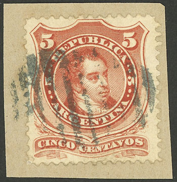 Lot 90 - Argentina general issues -  Guillermo Jalil - Philatino Auction #1922 ARGENTINA: General auction with very low starts!