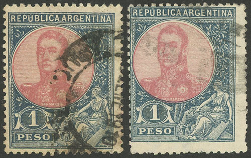 Lot 183 - Argentina general issues -  Guillermo Jalil - Philatino Auction #1922 ARGENTINA: General auction with very low starts!