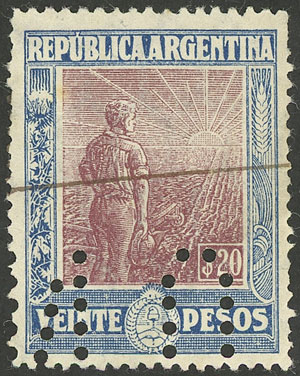 Lot 631 - Argentina general issues -  Guillermo Jalil - Philatino Auction #1922 ARGENTINA: General auction with very low starts!