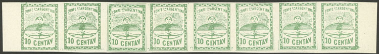 Lot 29 - Argentina confederation -  Guillermo Jalil - Philatino Auction #1922 ARGENTINA: General auction with very low starts!