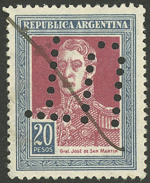 Lot 232 - Argentina general issues -  Guillermo Jalil - Philatino Auction #1922 ARGENTINA: General auction with very low starts!