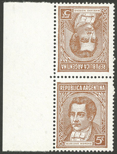 Lot 315 - Argentina general issues -  Guillermo Jalil - Philatino Auction #1922 ARGENTINA: General auction with very low starts!