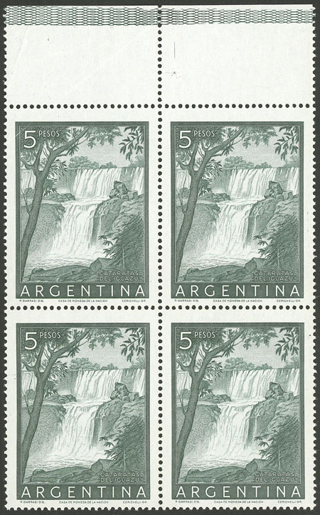 Lot 424 - Argentina general issues -  Guillermo Jalil - Philatino Auction #1922 ARGENTINA: General auction with very low starts!