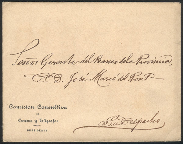 Lot 739 - Argentina postal history -  Guillermo Jalil - Philatino Auction #1922 ARGENTINA: General auction with very low starts!