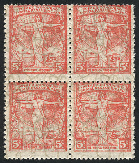 Lot 223 - Argentina general issues -  Guillermo Jalil - Philatino Auction #1922 ARGENTINA: General auction with very low starts!
