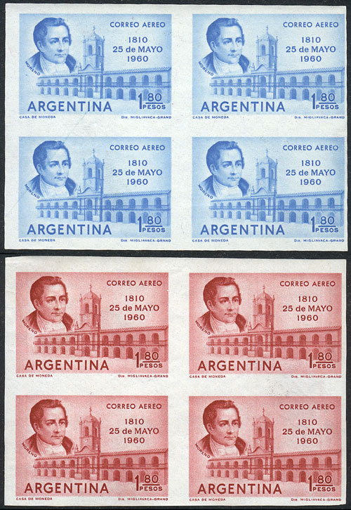 Lot 640 - Argentina airmail -  Guillermo Jalil - Philatino Auction #1922 ARGENTINA: General auction with very low starts!