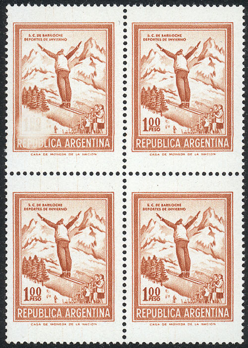 Lot 523 - Argentina general issues -  Guillermo Jalil - Philatino Auction #1922 ARGENTINA: General auction with very low starts!