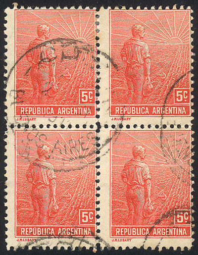 Lot 190 - Argentina general issues -  Guillermo Jalil - Philatino Auction #1922 ARGENTINA: General auction with very low starts!