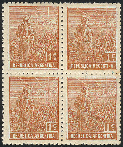 Lot 194 - Argentina general issues -  Guillermo Jalil - Philatino Auction #1922 ARGENTINA: General auction with very low starts!