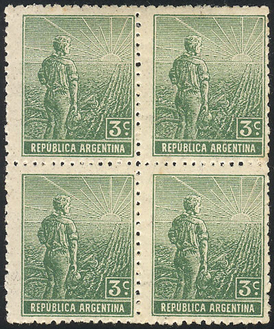 Lot 195 - Argentina general issues -  Guillermo Jalil - Philatino Auction #1922 ARGENTINA: General auction with very low starts!