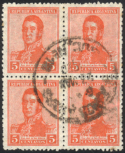 Lot 219 - Argentina general issues -  Guillermo Jalil - Philatino Auction #1922 ARGENTINA: General auction with very low starts!