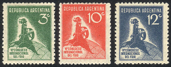 Lot 265 - Argentina general issues -  Guillermo Jalil - Philatino Auction #1922 ARGENTINA: General auction with very low starts!