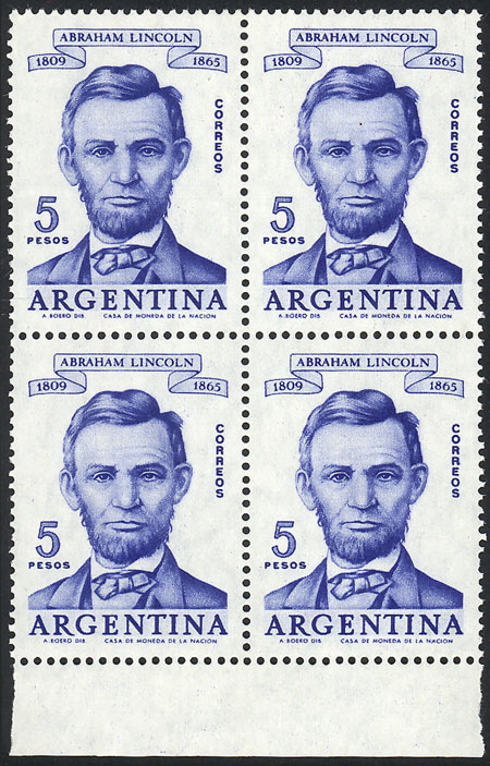 Lot 463 - Argentina general issues -  Guillermo Jalil - Philatino Auction #1922 ARGENTINA: General auction with very low starts!