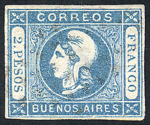 Lot 5 - Argentina buenos aires -  Guillermo Jalil - Philatino Auction #1922 ARGENTINA: General auction with very low starts!