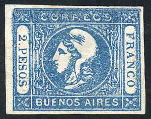 Lot 6 - Argentina buenos aires -  Guillermo Jalil - Philatino Auction #1922 ARGENTINA: General auction with very low starts!
