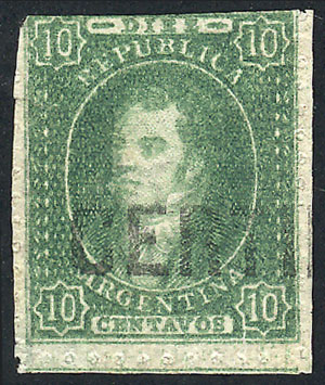 Lot 53 - Argentina rivadavias -  Guillermo Jalil - Philatino Auction #1922 ARGENTINA: General auction with very low starts!