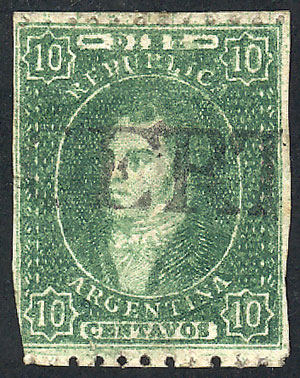 Lot 54 - Argentina rivadavias -  Guillermo Jalil - Philatino Auction #1922 ARGENTINA: General auction with very low starts!