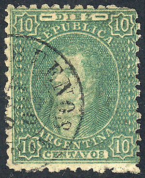 Lot 49 - Argentina rivadavias -  Guillermo Jalil - Philatino Auction #1922 ARGENTINA: General auction with very low starts!