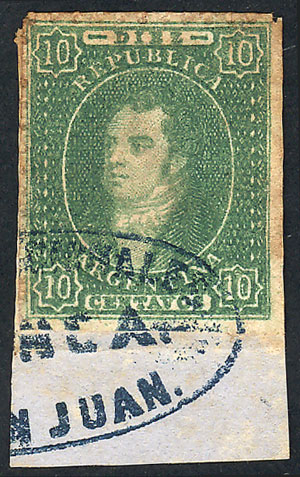 Lot 56 - Argentina rivadavias -  Guillermo Jalil - Philatino Auction #1922 ARGENTINA: General auction with very low starts!