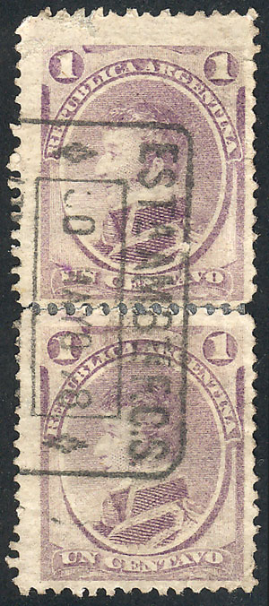 Lot 81 - Argentina general issues -  Guillermo Jalil - Philatino Auction #1922 ARGENTINA: General auction with very low starts!