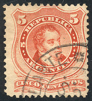 Lot 118 - Argentina general issues -  Guillermo Jalil - Philatino Auction #1922 ARGENTINA: General auction with very low starts!
