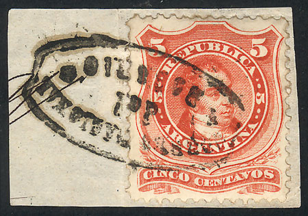 Lot 117 - Argentina general issues -  Guillermo Jalil - Philatino Auction #1922 ARGENTINA: General auction with very low starts!