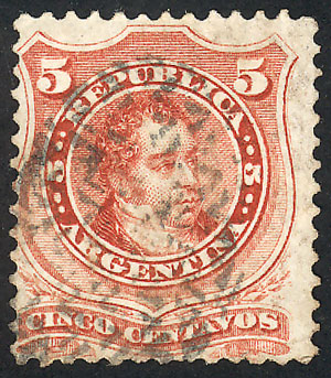 Lot 113 - Argentina general issues -  Guillermo Jalil - Philatino Auction #1922 ARGENTINA: General auction with very low starts!