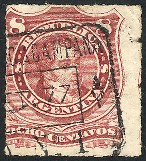 Lot 135 - Argentina general issues -  Guillermo Jalil - Philatino Auction #1922 ARGENTINA: General auction with very low starts!
