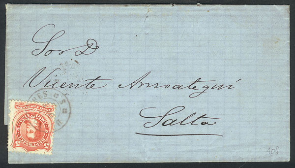 Lot 728 - Argentina postal history -  Guillermo Jalil - Philatino Auction #1922 ARGENTINA: General auction with very low starts!