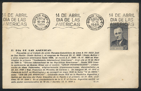 Lot 770 - Argentina postal history -  Guillermo Jalil - Philatino Auction #1922 ARGENTINA: General auction with very low starts!