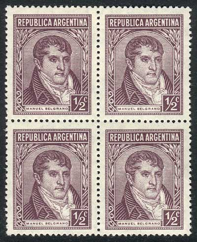 Lot 295 - Argentina general issues -  Guillermo Jalil - Philatino Auction #1922 ARGENTINA: General auction with very low starts!