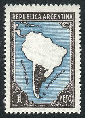 Lot 301 - Argentina general issues -  Guillermo Jalil - Philatino Auction #1922 ARGENTINA: General auction with very low starts!
