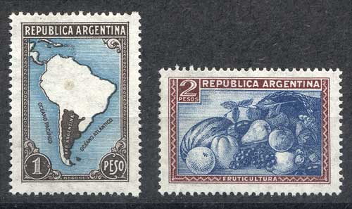 Lot 300 - Argentina general issues -  Guillermo Jalil - Philatino Auction #1922 ARGENTINA: General auction with very low starts!