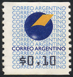 Stamp Auction - Argentina variable value stamps - Auction