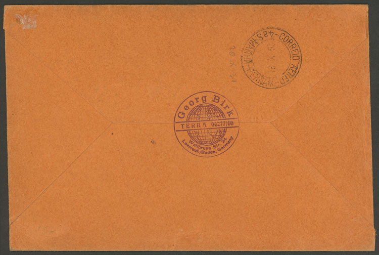 Lot 45 - germany postal history -  Guillermo Jalil - Philatino Auction #1924 WORLDWIDE + ARGENTINA: General June auction