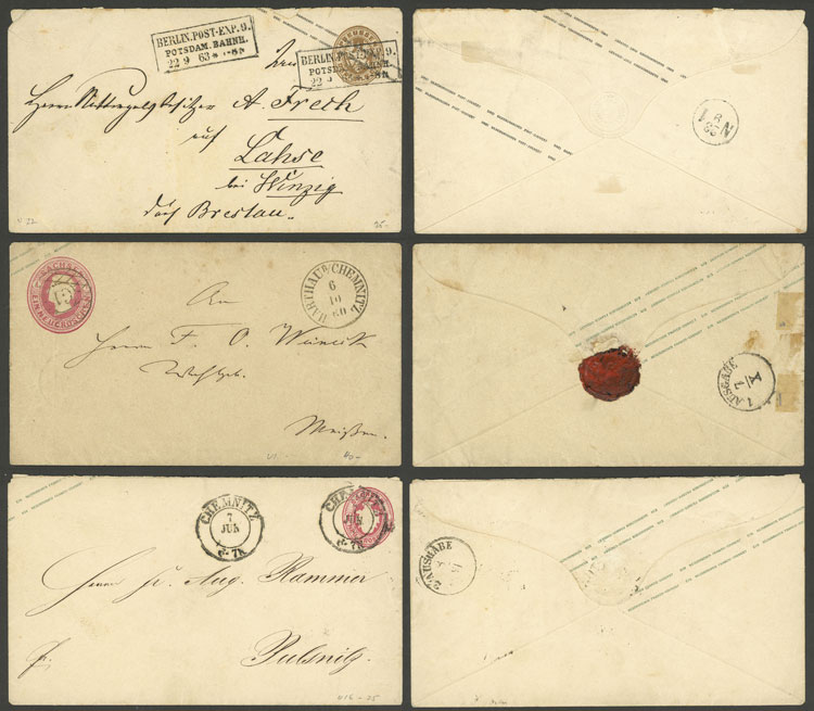 Lot 28 - germany postal history -  Guillermo Jalil - Philatino Auction #1924 WORLDWIDE + ARGENTINA: General June auction