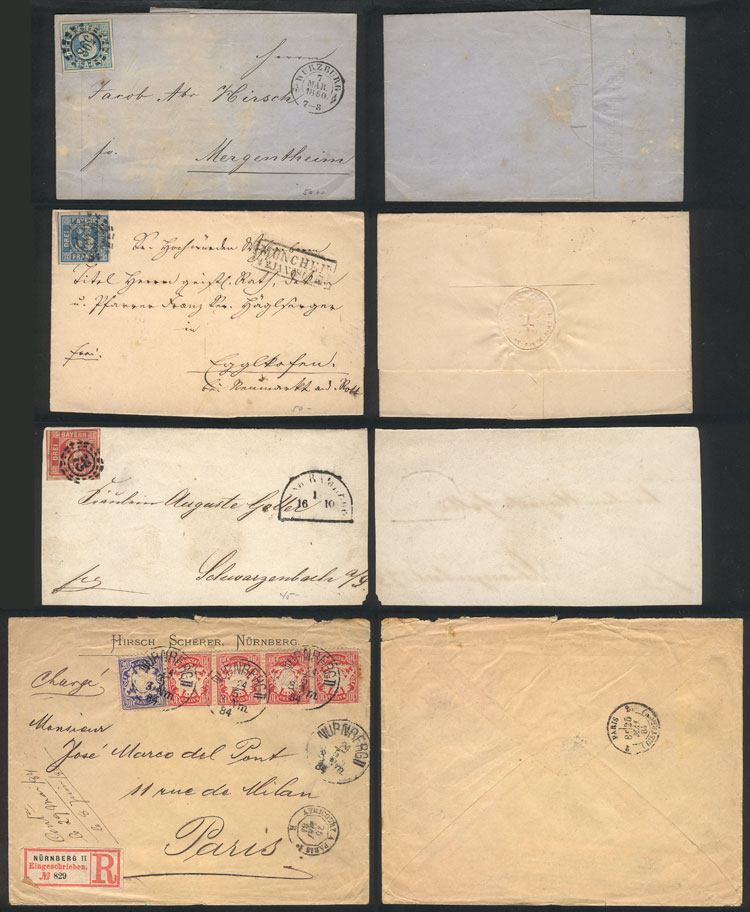 Lot 26 - germany postal history -  Guillermo Jalil - Philatino Auction #1924 WORLDWIDE + ARGENTINA: General June auction