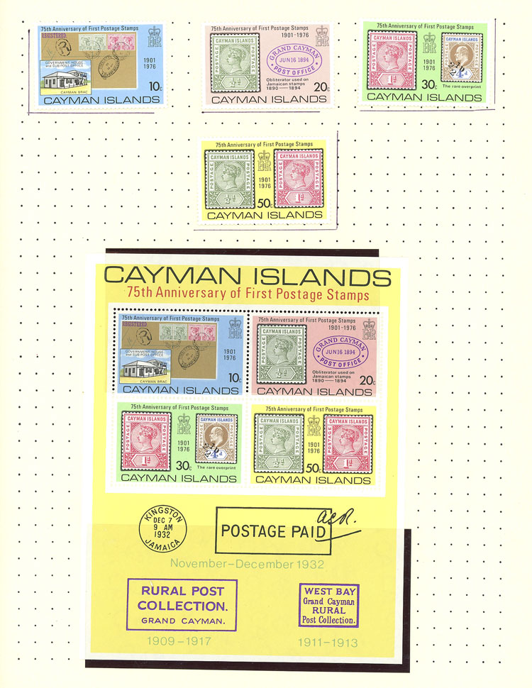 Lot 625 - cayman islands Lots and Collections -  Guillermo Jalil - Philatino Auction #1924 WORLDWIDE + ARGENTINA: General June auction