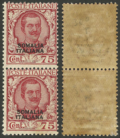 Lot 1062 - italian somaliland general issues -  Guillermo Jalil - Philatino Auction #1924 WORLDWIDE + ARGENTINA: General June auction