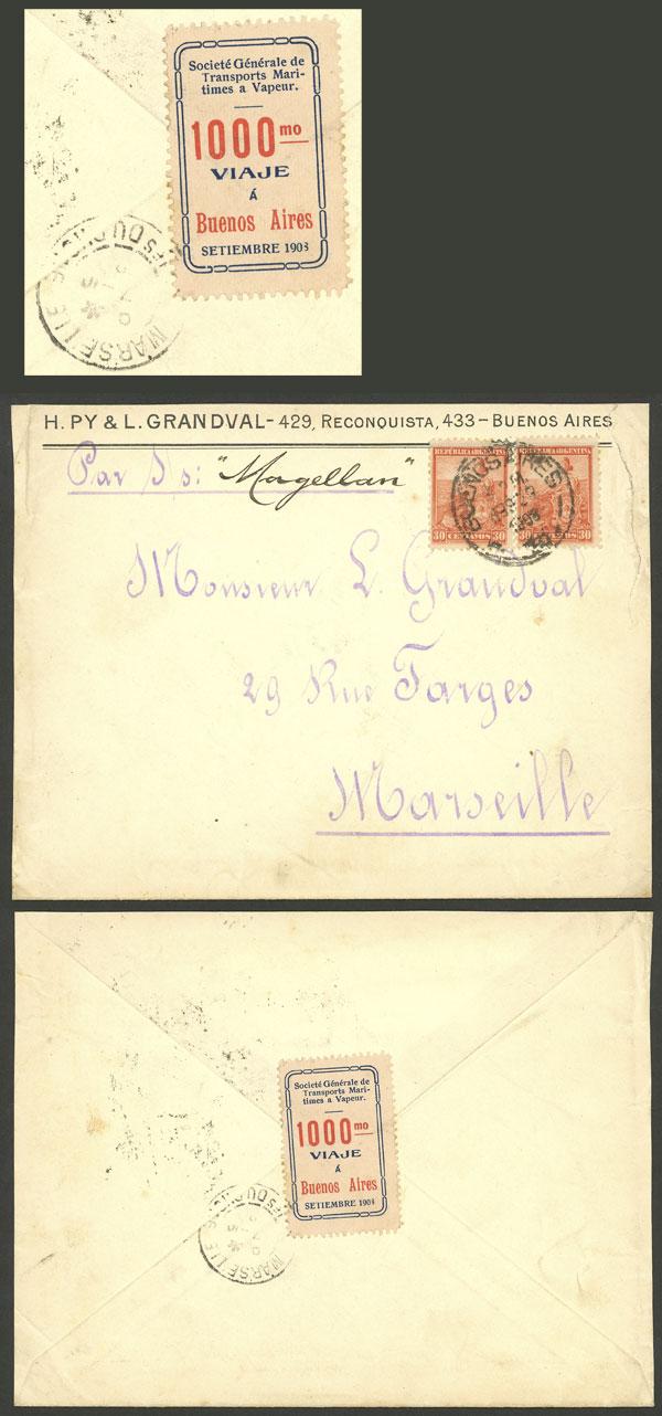 Lot 504 - Argentina cinderellas -  Guillermo Jalil - Philatino Auction #1924 WORLDWIDE + ARGENTINA: General June auction