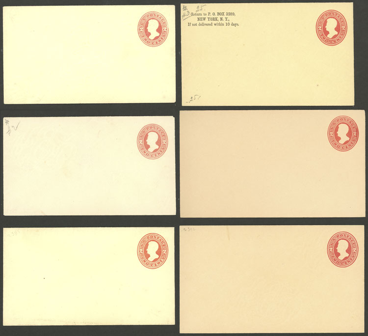 Lot 737 - united states Postal stationery -  Guillermo Jalil - Philatino Auction #1924 WORLDWIDE + ARGENTINA: General June auction