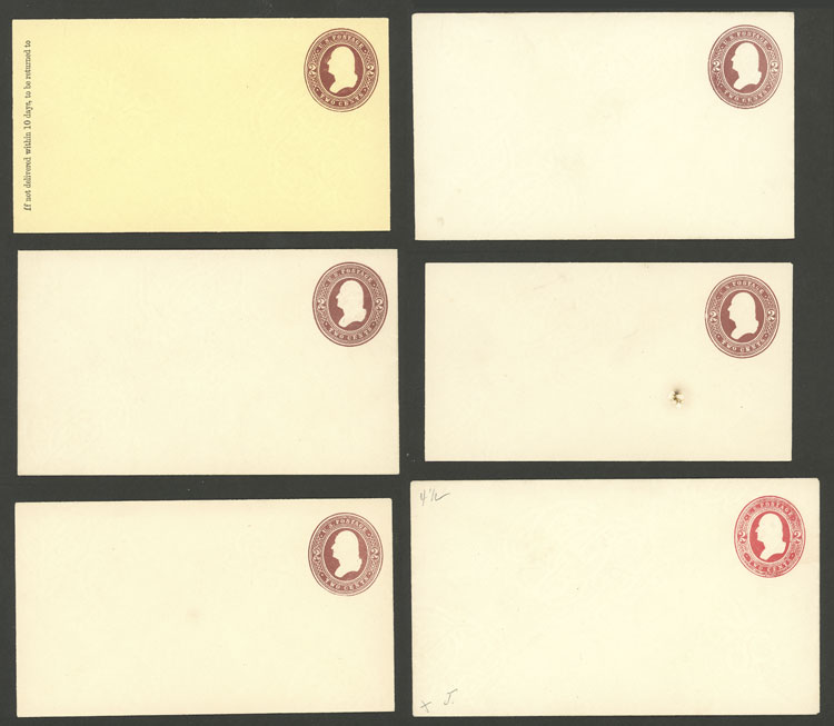 Lot 738 - united states Postal stationery -  Guillermo Jalil - Philatino Auction #1924 WORLDWIDE + ARGENTINA: General June auction