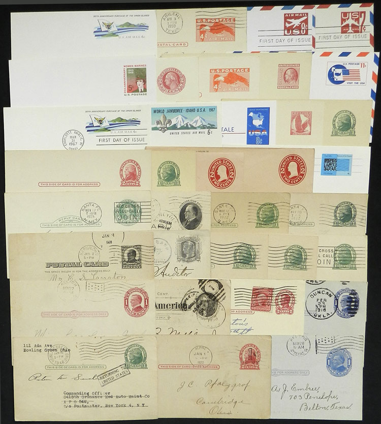 Lot 740 - united states Postal stationery -  Guillermo Jalil - Philatino Auction #1924 WORLDWIDE + ARGENTINA: General June auction
