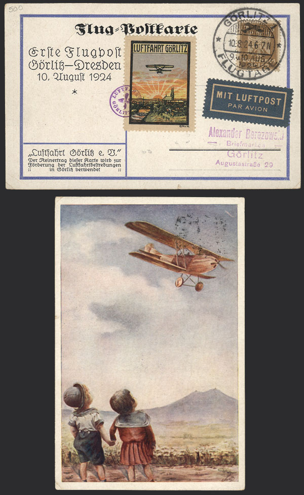 Lot 41 - germany postal history -  Guillermo Jalil - Philatino Auction #1924 WORLDWIDE + ARGENTINA: General June auction