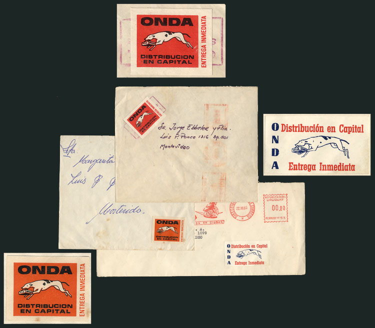 Lot 9 - TOPIC DOGS postal history -  Guillermo Jalil - Philatino Auction #1924 WORLDWIDE + ARGENTINA: General June auction