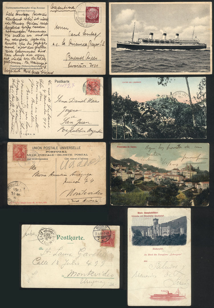 Lot 31 - germany postal history -  Guillermo Jalil - Philatino Auction #1924 WORLDWIDE + ARGENTINA: General June auction