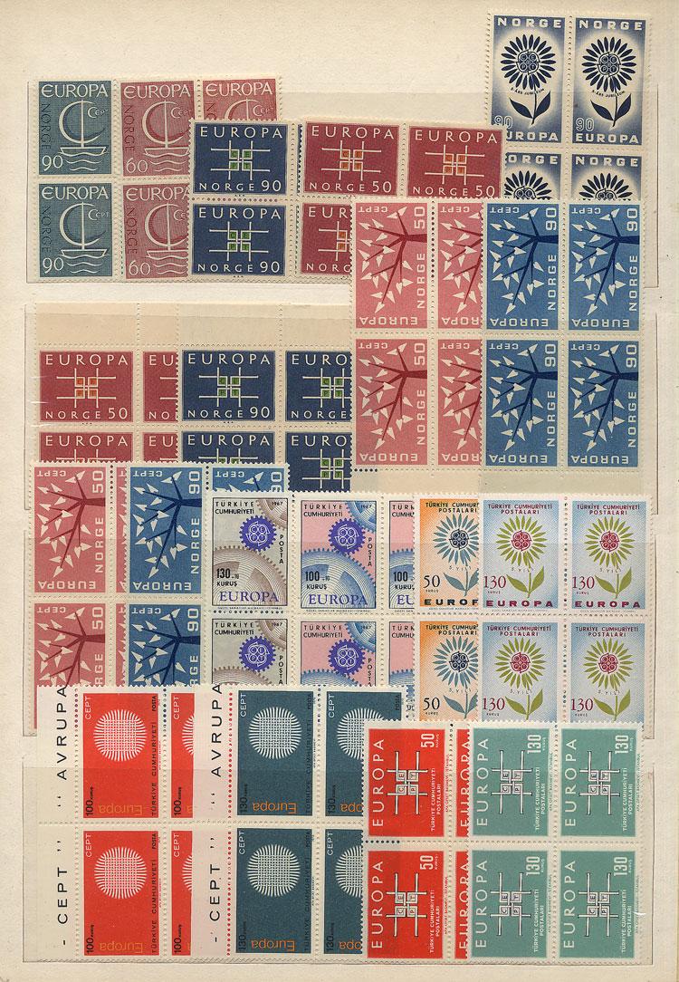 Lot 7 - topic europa Lots and Collections -  Guillermo Jalil - Philatino Auction #1924 WORLDWIDE + ARGENTINA: General June auction