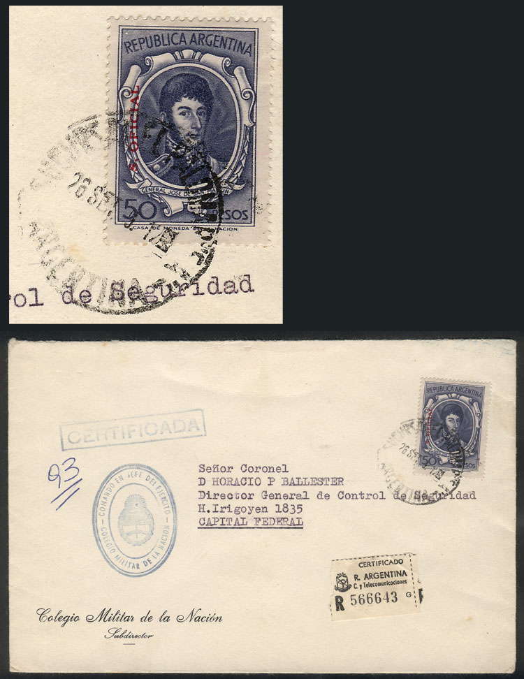 Lot 314 - Argentina official stamps -  Guillermo Jalil - Philatino Auction #1924 WORLDWIDE + ARGENTINA: General June auction